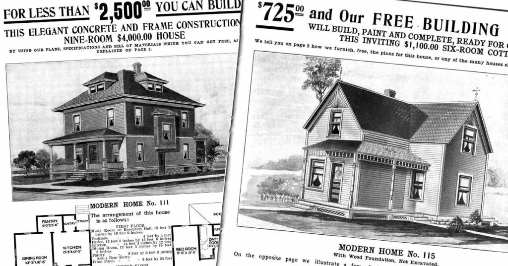 Sears catalogs from days of yore